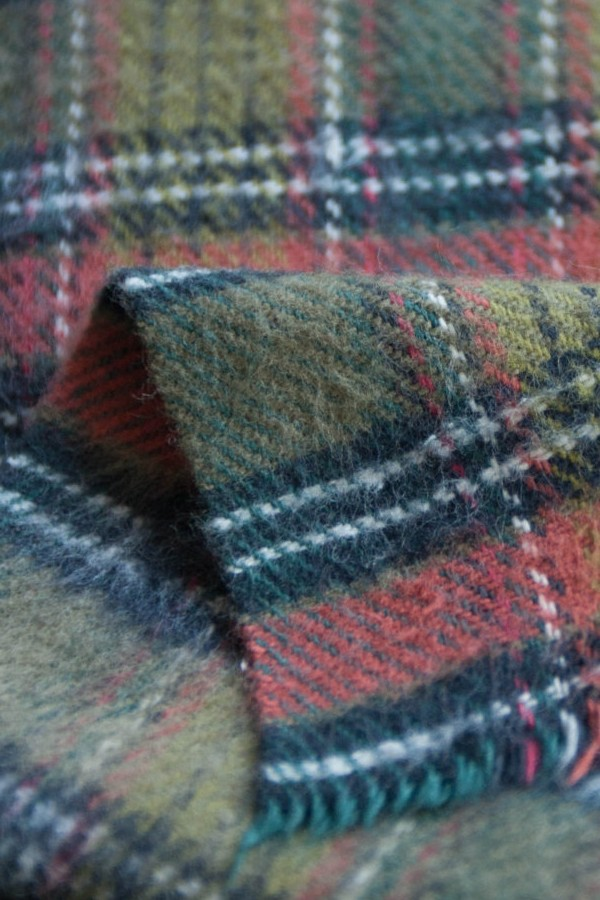 flannel-plaid-woven-fabric-manufacturing