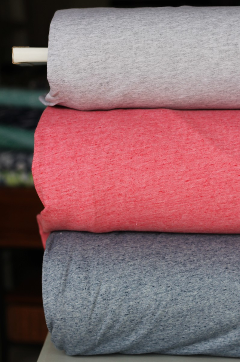 heathered-stretch-french-terry-knitts-fleece-buronout-interlock-single-jersey-rib