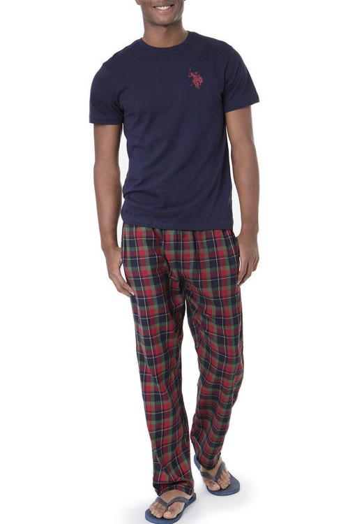 sleep-wear-pajamas-uspolo-manufacturer-cotton-woven-packs